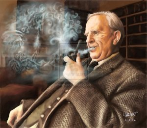 tolkien_daydreams_by_lueb_art-d4w8wbt
