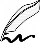 escrevendo-utilizando-uma-pena-e-tinta-clip-art_436334