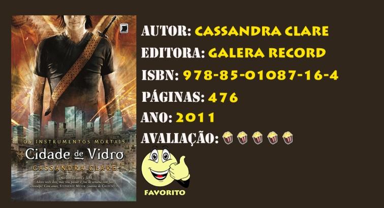 INSTRUMENTOS MORTAIS - VOL 03 CIDADE DE VIDRO