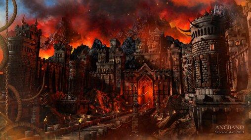 Angband - Fortaleza governada por Sauron