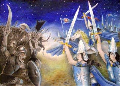 battle_under_the_stars_by_elven21-d5lj53w