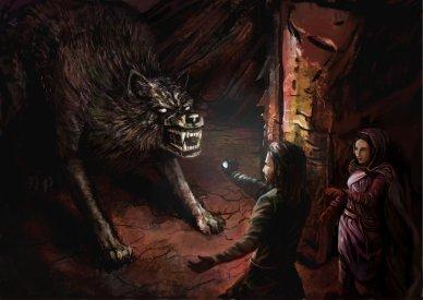 Cães e Lobos - Carcharoth (Lobo de Melkor) 02