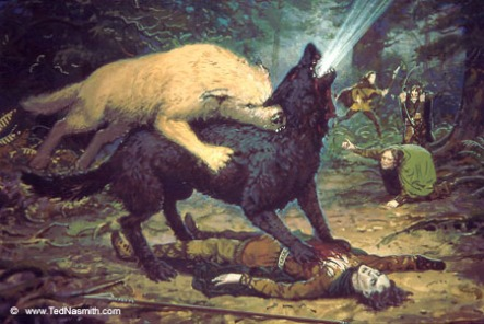 Cães e Lobos - Huan (Cão de Valinor) 03