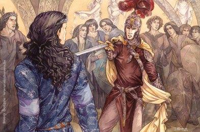 Feanor e Fingolfin