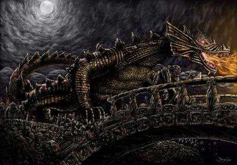 Glaurung-invade-Nargothrond-4