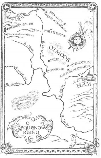 Mapa O Pequeno Reino - Mestre Gil de Ham