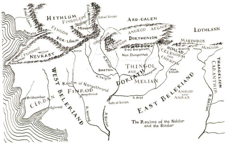 Mapas O Silmarillion 01