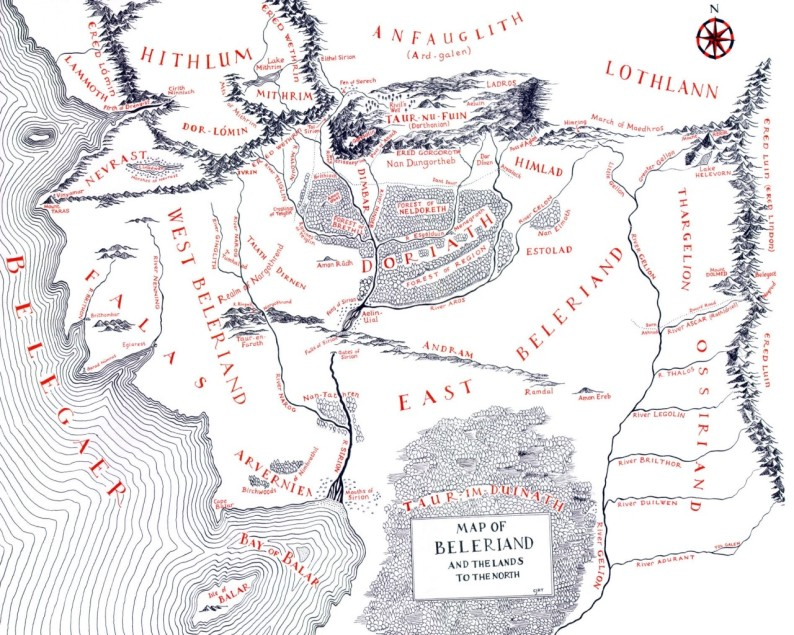 Mapas O Silmarillion 02