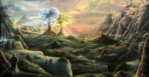 """""""Valinor"""" e das """"Árvores de Valinor"""""""