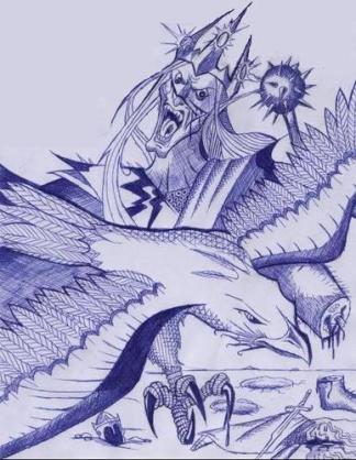 Águias - Thorondor vs Melkor