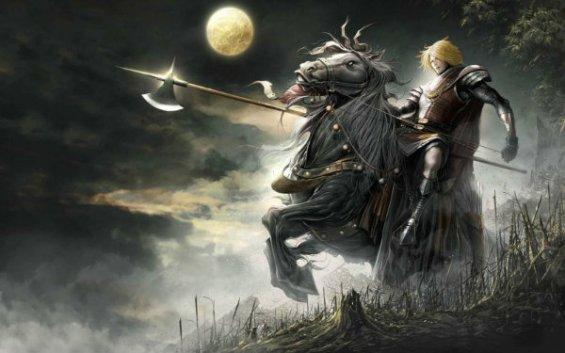 Cavalos - Nahar - Cavalo de Oromë