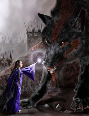 Cães e Lobos - Carcharoth (Lobo de Melkor)