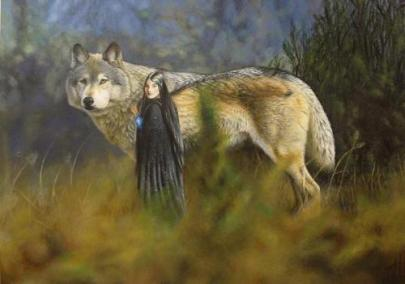 Cães e Lobos - Huan (Cão de Valinor)