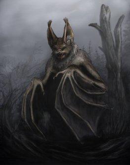 Morcegos - Thuringwethil (Mensageira de Sauron)